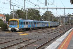 Siemens 816M stabled at Frankston station