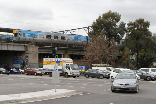 Alstom Comeng 636M on an up Sandringham service at Richmond station