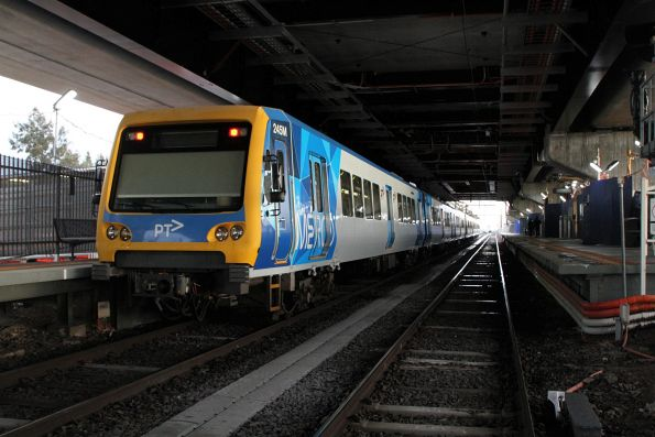 X'Trapolis 245M on an up train at Reservoir station