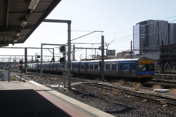 Alstom Comeng 467M arrives into Southern Cross