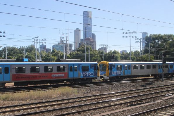 Siemens 753M and 757M on the up at Richmond Junction