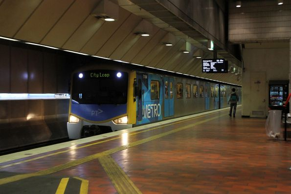 Siemens 715M on an up Northern Group service at Melbourne Central