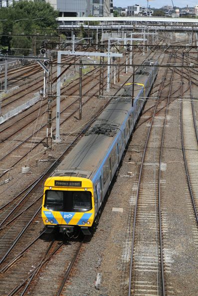 Life extension EDI Comeng 442M on the up at Richmond Junction