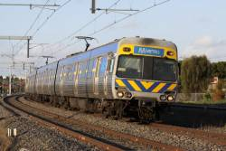 Alstom Comeng on the up at Coolaroo