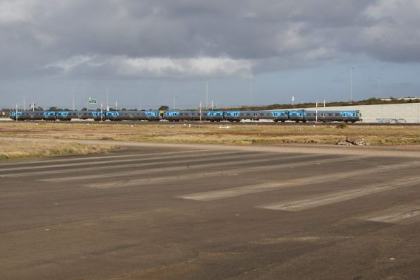 Comeng passing the former runway at RAAF Williams Laverton Base