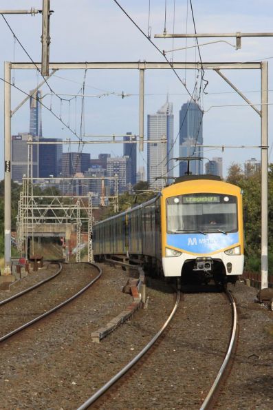Siemens on the down at Ascot Vale