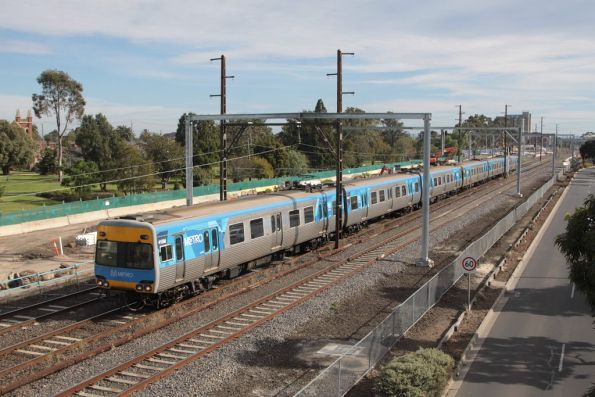 Alstom Comeng 415M on the down at Sunshine