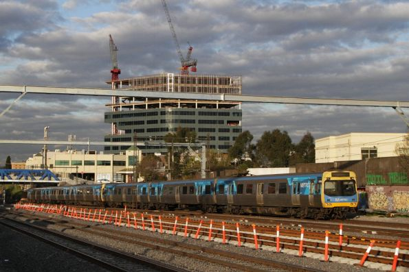 EDI Comeng 328M on the down at Footscray