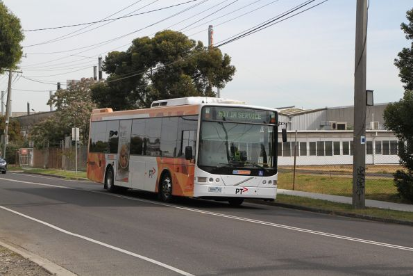 CDC Melbourne bus #63 3886AO heads empty along St Albans Road in Albion bound for Sunshine depot