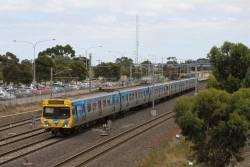 Life extension EDI Comeng 494M at Laverton on the up
