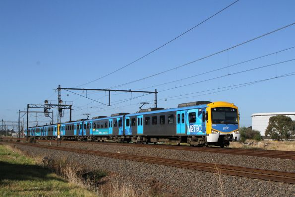 Siemens 737M on a down Werribee service at Altona Junction