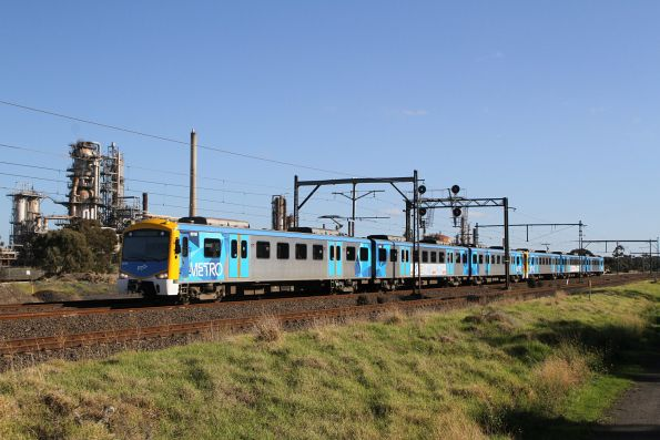 Siemens 831M on an up Werribee service at Altona Junction