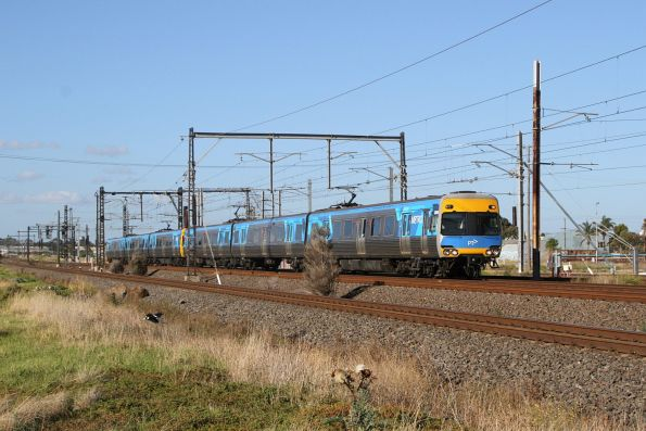 Alstom Comeng 326M on a down Werribee service at Altona Junction