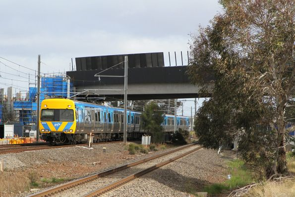 Life extension Alstom Comeng 587M on the up at Laverton