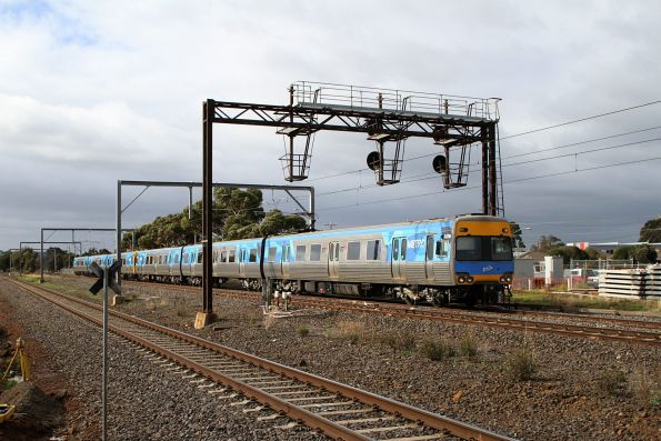 Alstom Comeng 637M on the down at Laverton