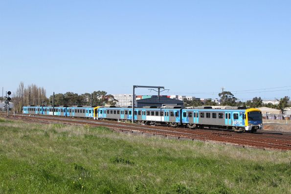 Siemens 711M on a down Watergardens service at Sunshine
