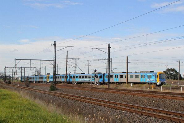 Siemens 822M on a down Laverton service at Altona Junction