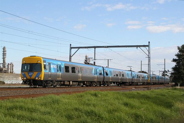 Alstom Comeng 592M on an up Werribee service at Altona Junction