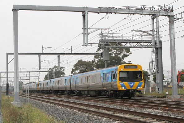 EDI Comeng 348M on a down Sunbury service at Albion