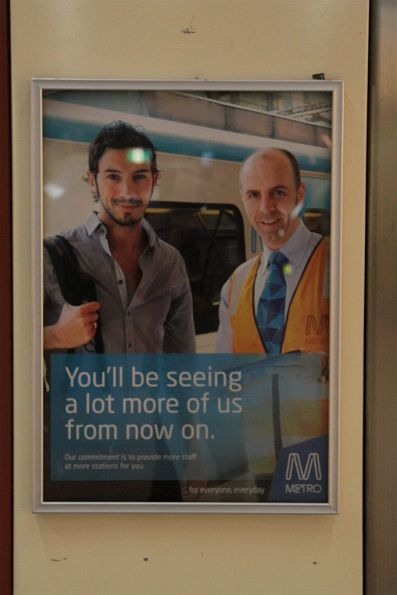 'More staff at more stations' - Metro Trains caught with their pants on fire