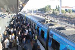 Train load of passengers left at West Footscray due to the train developing a fault