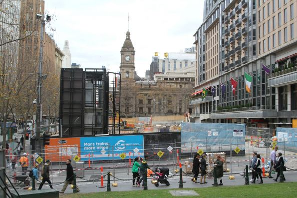 Site clearance works continue at City Square