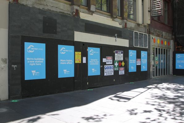 McDonald's on Swanston Street acquired to make way for the future entrance to Metro Tunnel CBD South station