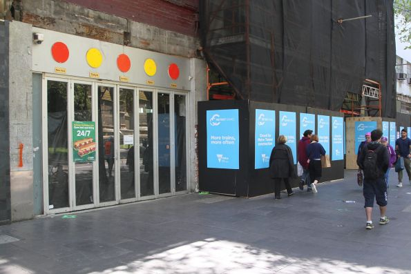 Hungry Jacks on Swanston Street acquired to make way for the future entrance to CBD South station