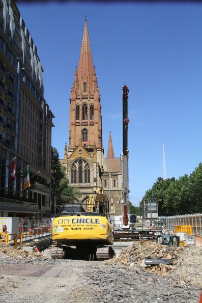 Demolition works continue at City Square