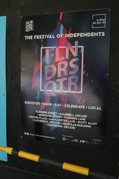 'The Festival of Independents' promotion from the Metro Tunnel authority