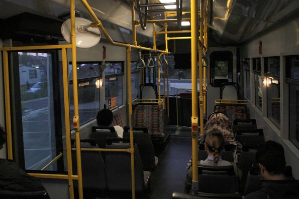 Onboard a Dysons bus running a Sunbury line rail replacement service