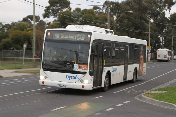 Metro Tunnel rail replacement buses - Northern group
