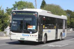 Dysons bus #1064 BS04BJ on a Sunbury line rail replacement service along Hampshire Road, Sunshine