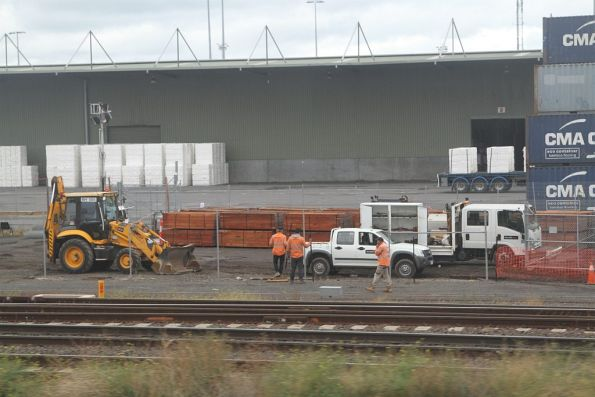 McLeod Rail staff upgrading sidings at North Dynon
