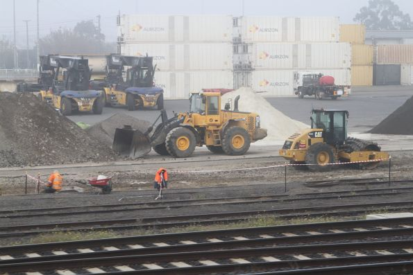 Relocating sidings at North Dynon to make way for the western Melbourne Metro tunnel portal