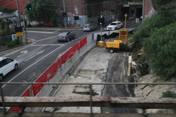 Ground improvement works beneath Lloyd Street in Kensington