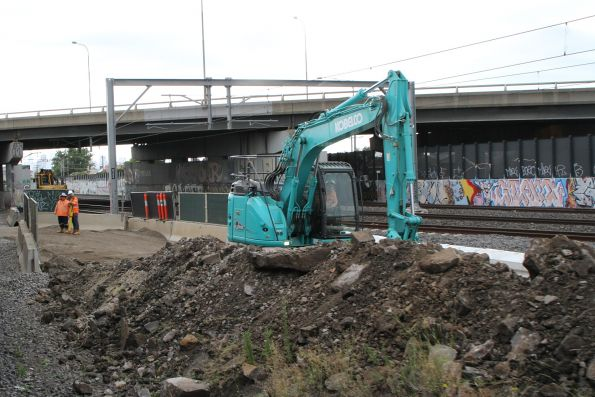 Site access works underway at West Footscray