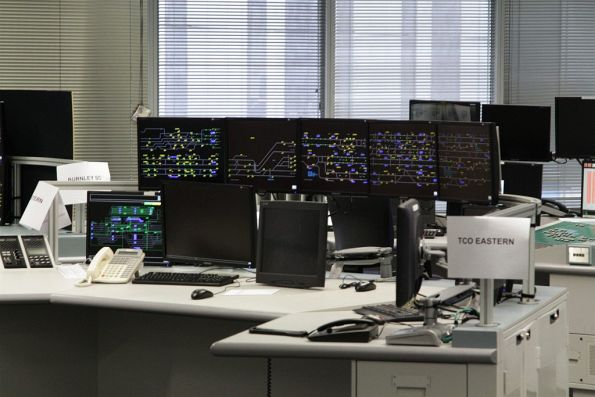New Train Control and Monitoring System (TCMS) ready to go, but not yet in everyday use