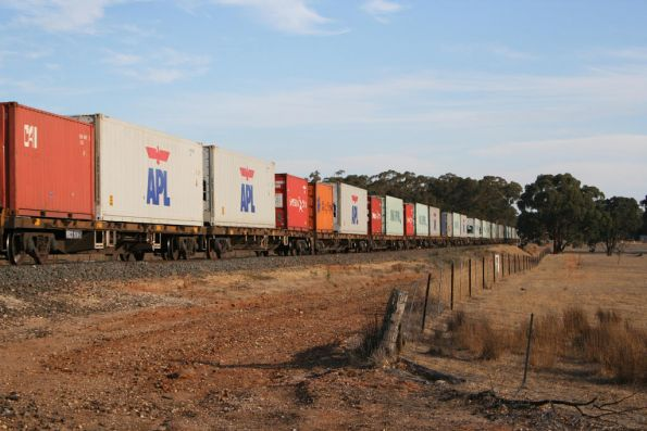Pacific National broad gauge Mildura freight