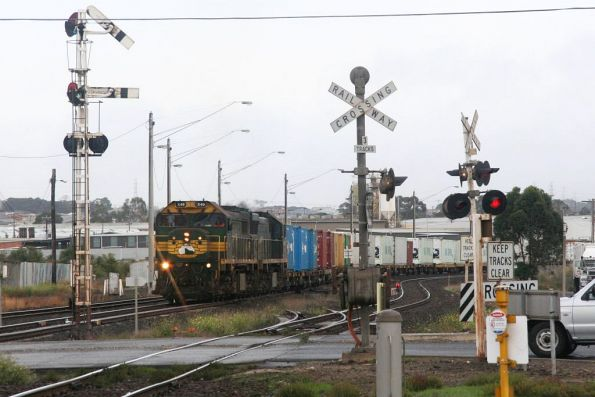 Semaphore showing proceed at North Geelong C
