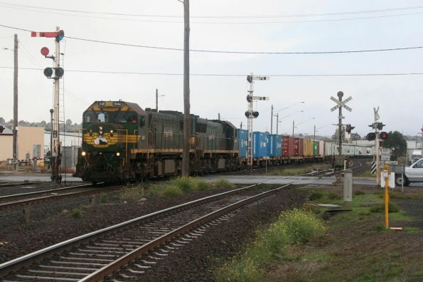 X49 and XR553 depart North Geelong C