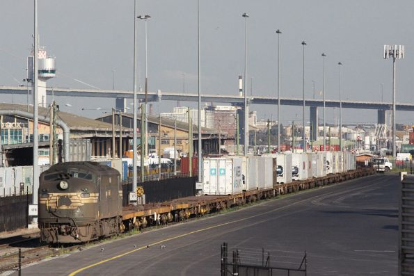 A81 idling away in the Patrick Sidings at Appleton Dock