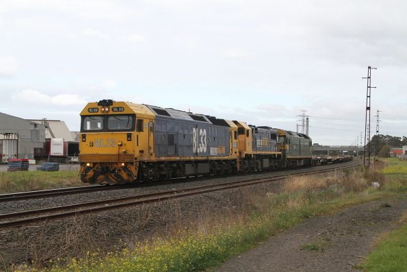 Pacific National standard gauge Mildura freight