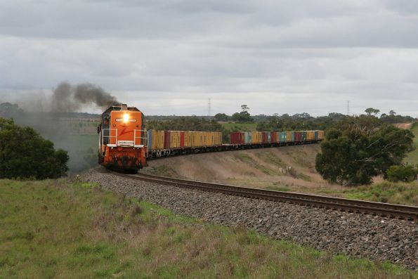 El Zorro mineral sands train