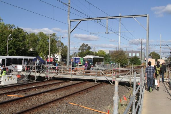Mitcham level crossing removal project