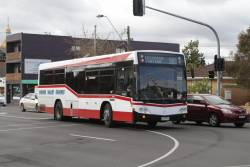 Moonee Valley Coaches bus #78 rego 2278AO on route 503 at Essendon station