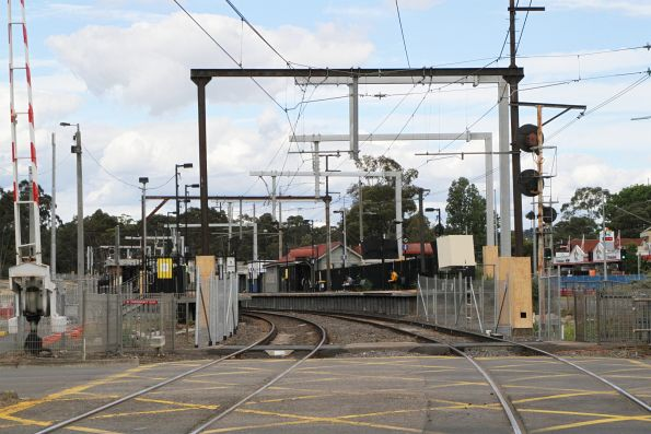 Mooroolbark level crossing removal project
