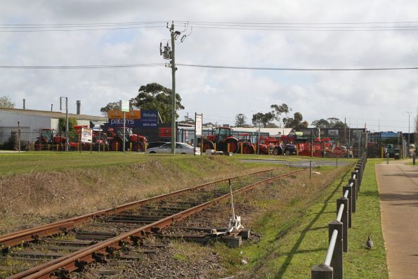 End of the line at Mornington