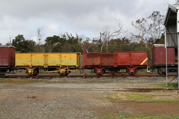 GY2706 in yellow and  GY6054 in red at Moorooduc