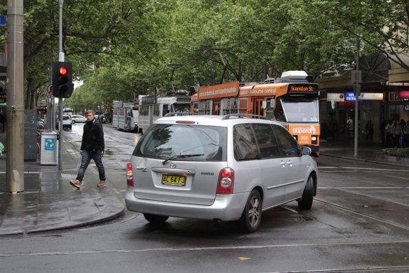 NSW drivers with no clue driving around the Melbourne CBD.